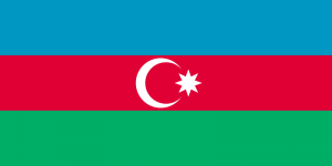 Azerbaijan - Flagge